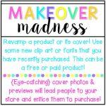 Makeover {MADNESS}! #tptsellerchallenge Week 1