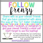 Follow {FRENZY!} #tptsellerchallenge Week 4