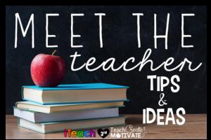 Meet the TEACHER! : I Teach Third
