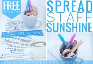 You've Been Mugged! {Spread Staff Sunshine!}