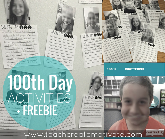 Have some fun in your classroom while writing on the 100th day!