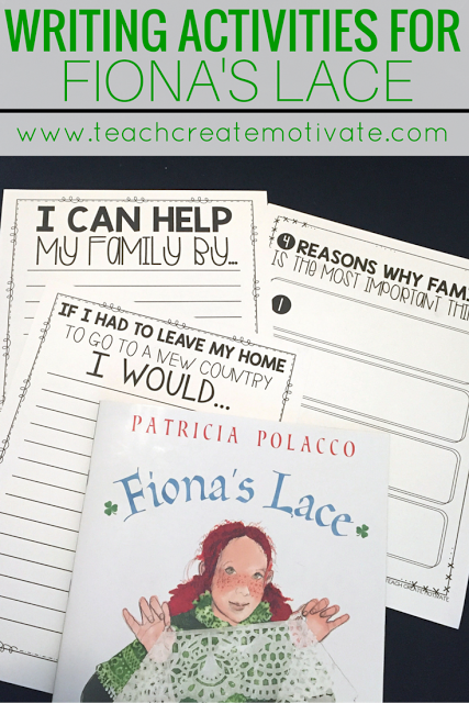 Help teach yours students the meaning of family with engaging writing activities for March!