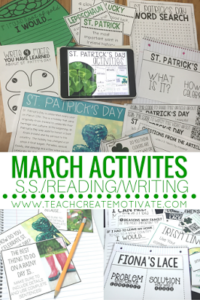 March Classroom Ideas! (with freebies!)
