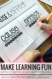 Comprehension Flapbooks are a great way to keep your students engaged in learning!