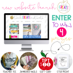 New Website Launch! {GIVEAWAY!}