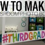 DIY Classroom Photo Booth
