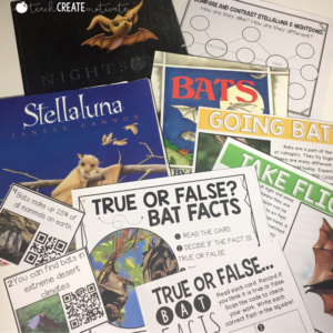 Bat Activities and Read Alouds