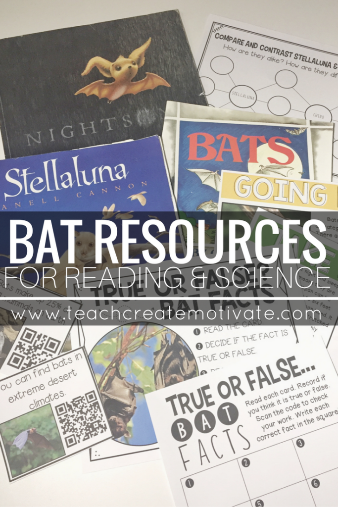 Reading and Science resources to teach your students all about bats! Engage them non-fiction while reinforcing reading skills.