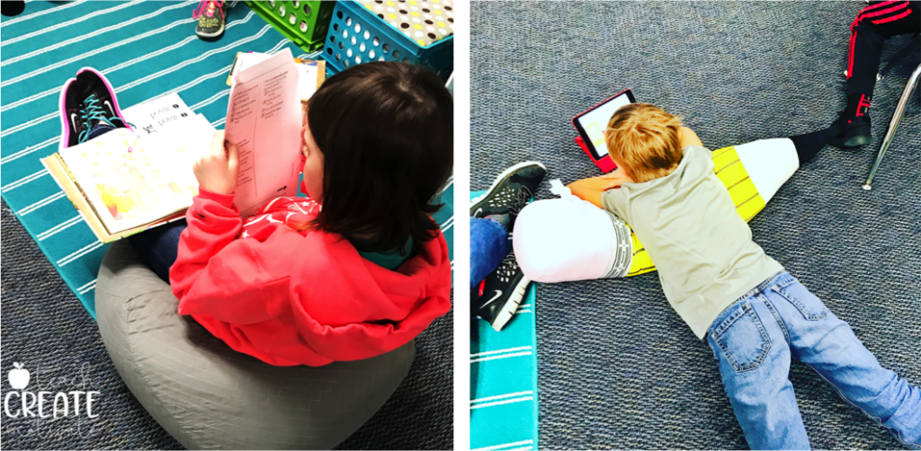 Learn how to add flexible seating to ANY classroom and change your classroom and student engagement for the better!