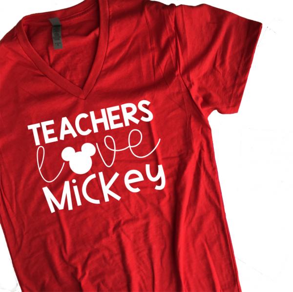Teachers Love Mickey-S (Pre-Order)