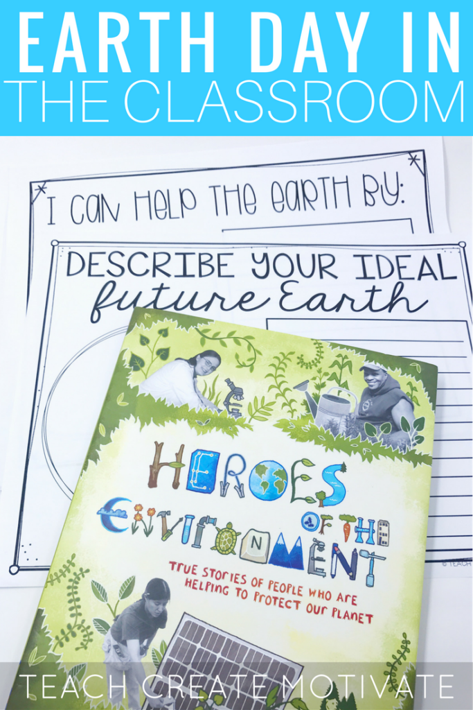 Great read alouds and activities for Earth Day in the classroom