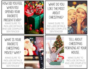 Christmas Writing Prompts.Christmas Writing Prompts