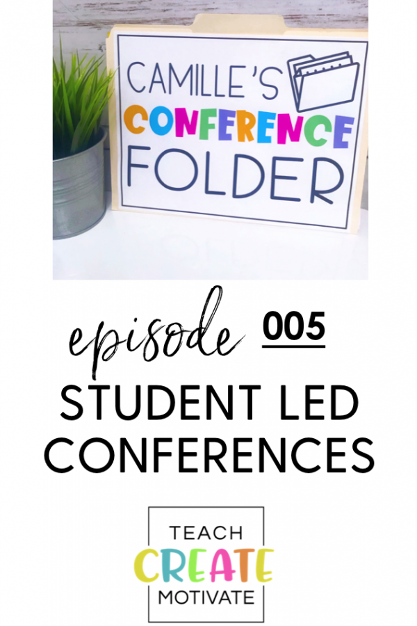 Give your students the reigns and led them lead by holding student led conferences
