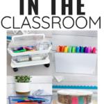 Classroom Organization with Deflecto