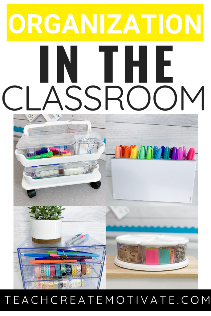 Beautiful classroom organizational ideas!
