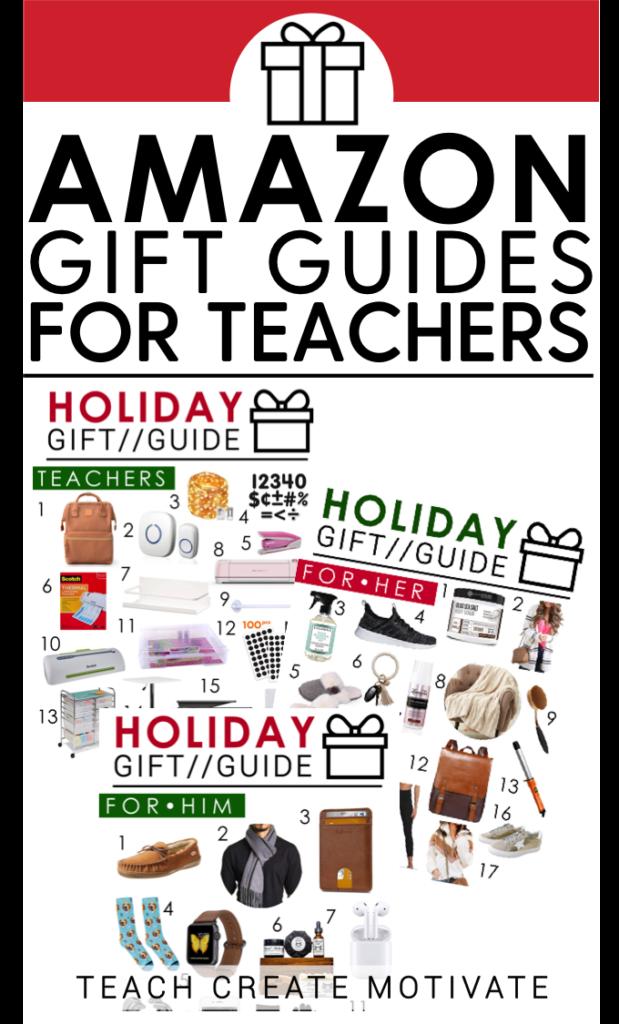 Amazon Gift Guides 2019 Teach Create Motivate