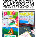 Easy Classroom Transformations