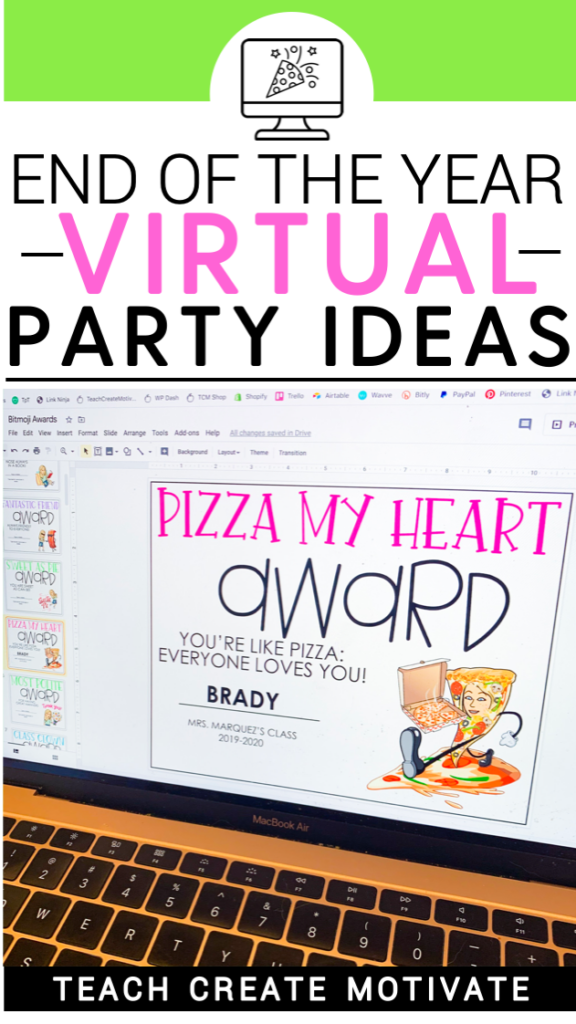 End of the Year Virtual Party