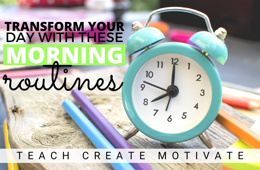 Picture of an alarm clock | Transform your day with these morning routines