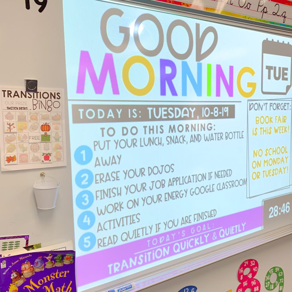Using timers in the classroom is my favorite ways to manage student engagement. Here are 3 ways in which you can use class slides today!