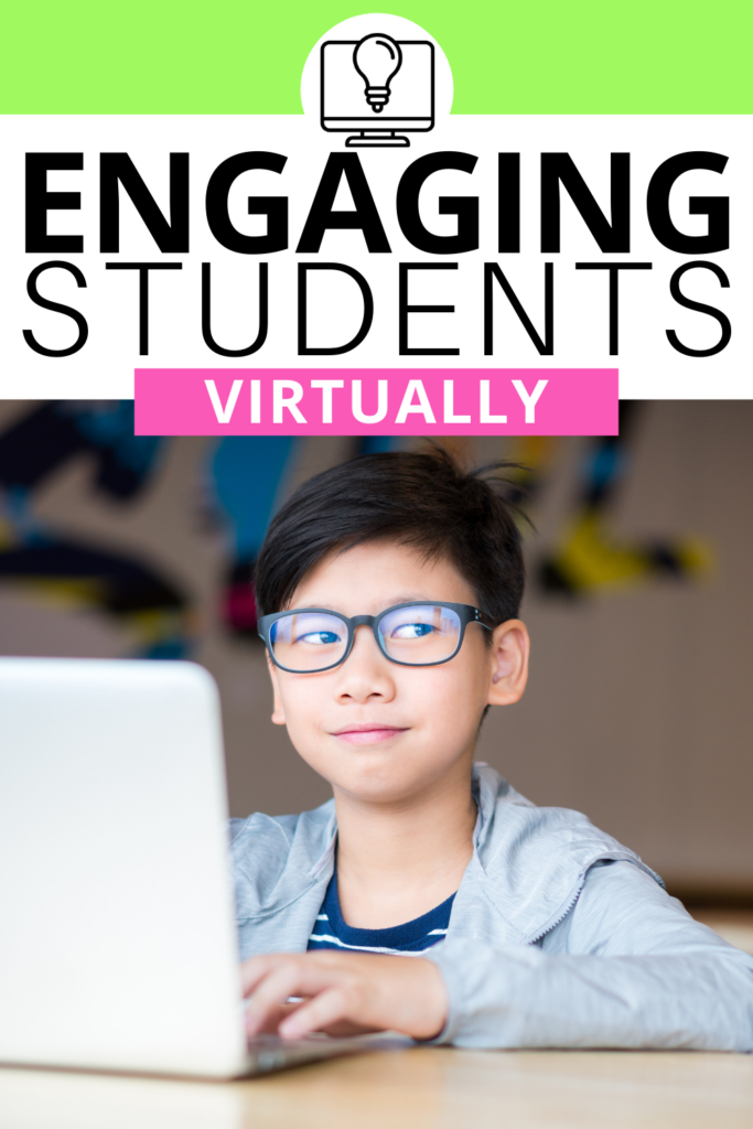 It's no secret that it's a bit more challenging to engage your elementary students while teaching virtually compared to teaching in-person! That's why I'm sharing my top ideas, tips, and strategies for managing and engaging your students while distance learning. Some of the interactive activities I'm sharing include using slides with timers, agenda slides, making a virtual classroom, and MORE!