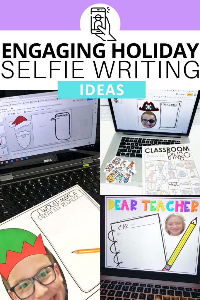 Writing is such an important skill to teach to our students that sometimes we forget the fun in it. Holiday selfie writing activities let students express their thoughts & feelings in fun ways and they will be sure to exceed your expectations!