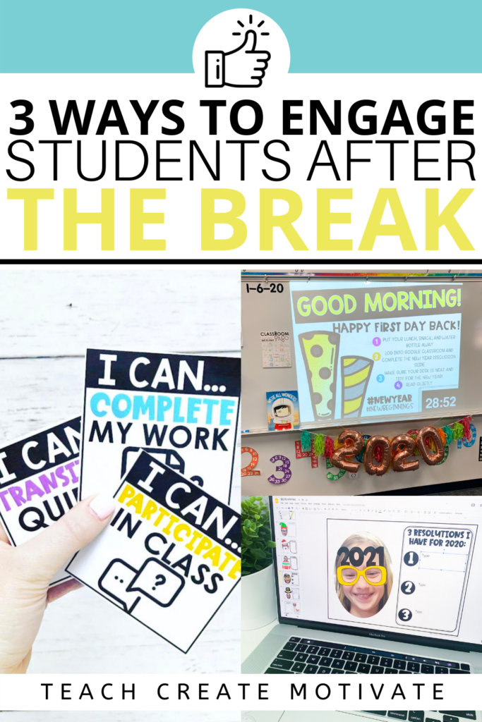 Coming back to school after any type of break is always a bit challenging for everyone! Student engagement is the number one factor for good classroom management. Getting students engaged back into the routine of school is key!