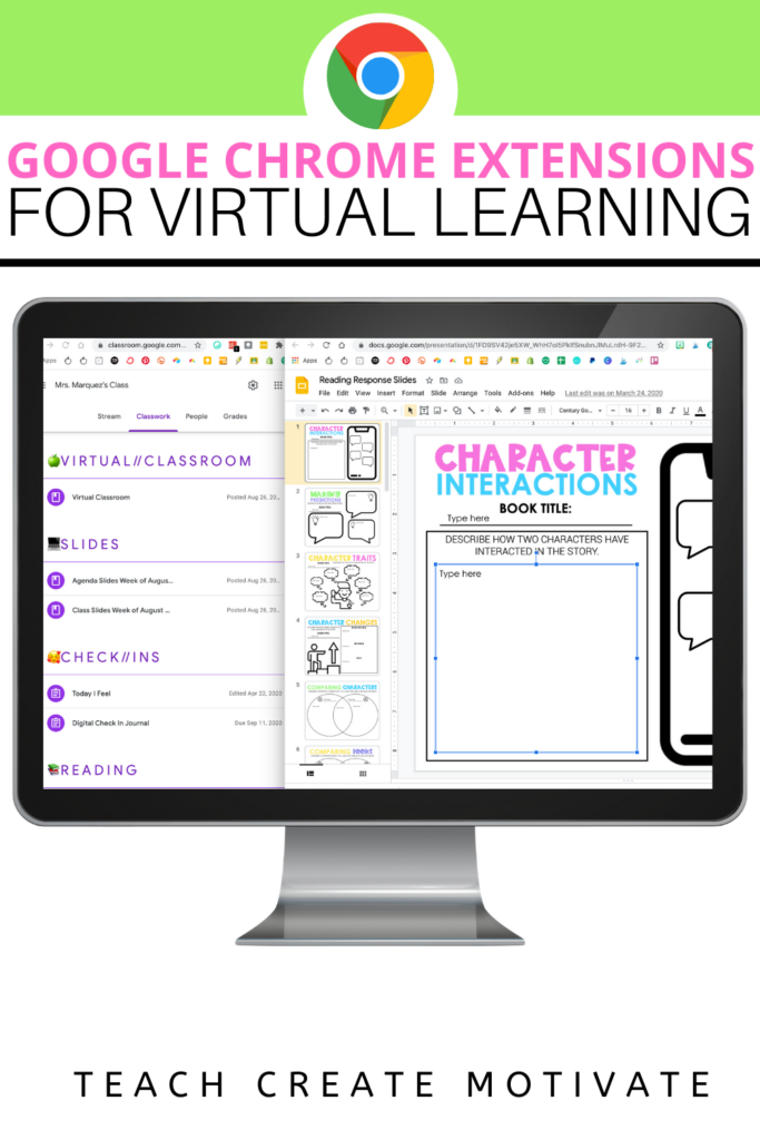 Google Chrome Extensions have been a lifesaver for so many teachers during virtual teaching this past school year. Here are 10 Google Chrome extensions perfect for distance learning!