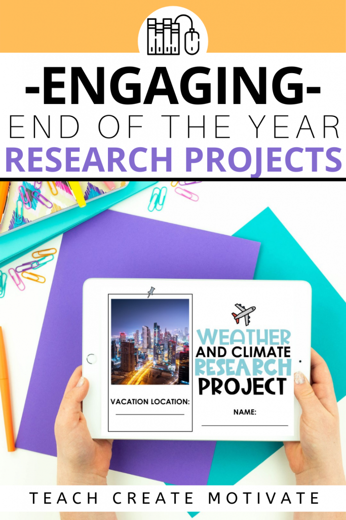 With the end of the school year quickly approaching, research projects are the perfect way to reflect on what your class has learned this year while still having fun! Here are some digital research projects tips and tricks.