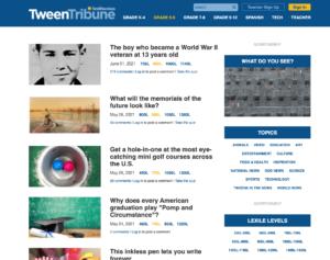 Smithsonian Tween Tribune Screenshot