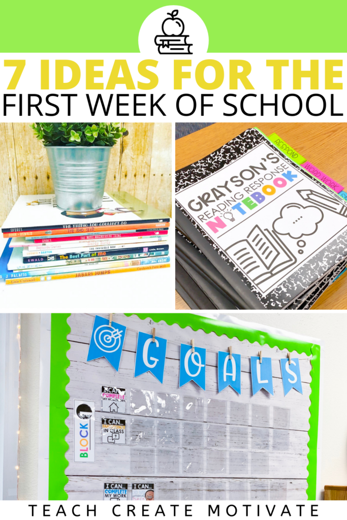 Read for ideas to use on the first week of school! Includes word search, read aloud, writing, growth mindset, and goal setting ideas. Get a First Week Feels Student Survey freebie! Great for elementary teachers in Kindergarten, first grade, second grade, third grade, fourth grade, and fifth grade. First week of school activities to do for morning meeting, morning work, or bell work. (Back to School, First Day of School, K, 1st grade, 2nd grade, 3rd grade, 4th grade, 5th grade)