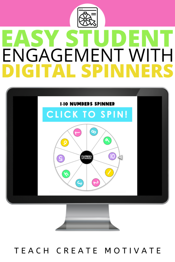 Digital spinners are the new prize wheel! Use digital spinners for student randomization instead of popsicle sticks. Elementary students will love these interactive spinners with sound effects and animation. There are options for math talk, nonfiction reading discussion, reading discussion, dice, reading skills, social-emotional prompts, affirmations, numbers, and more! ( Kindergarten, 1st grade, 2nd grade, 3rd grade, 4th grade, 5th grade)